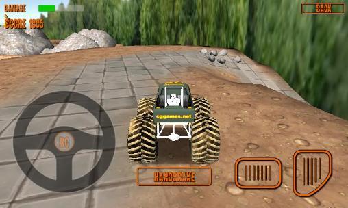 RC monster truck screenshots