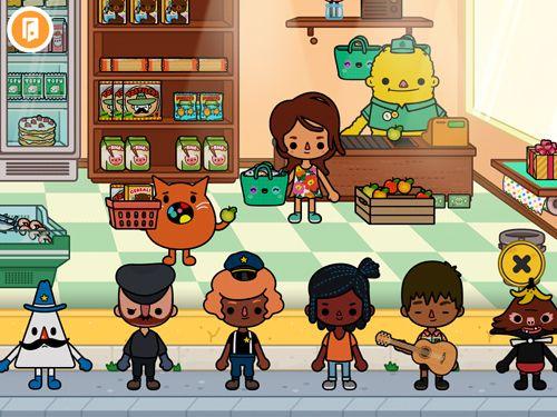 Arcade-Spiele: Lade Toca Life: Stadt auf dein Handy herunter