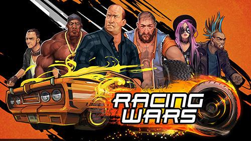 Racing wars: Go! Symbol