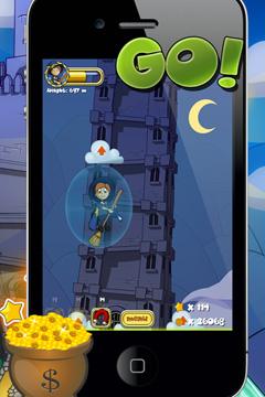 Arcade-Spiele: Lade Magbaden´s Welt - Fliegen auf dein Handy herunter