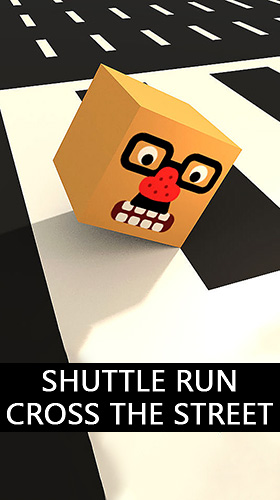 Shuttle run: Cross the street Screenshot