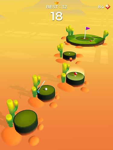 Pop shot! Golf für Android