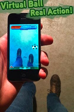 Chute a bola para iPhone
