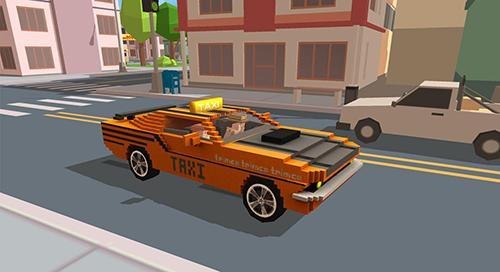 Fast city taxi race legend captura de pantalla 1
