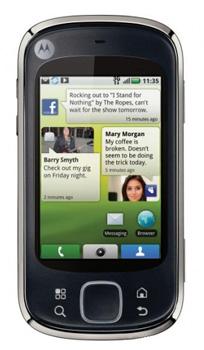 Motorola Quench XT3 apps