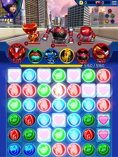 ビッグ・ヒーロー6: ボット・ファイトの日本語版