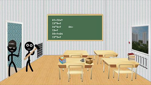 Juegos divertidos Stickman college en español