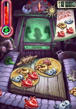 Zombie-Pizza auf Deutsch