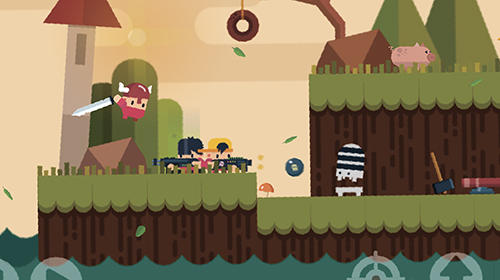 Dusty the great: Action-platformer для Android