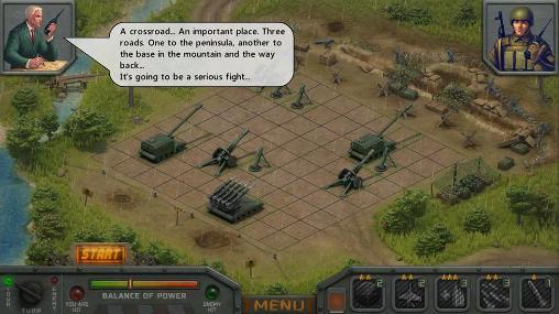 Strategie Artillerists für das Smartphone