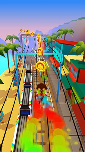 Subway surfers: Hawaii for iPhone for free