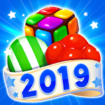 Sweet candy witch: Match 3 puzzle icon