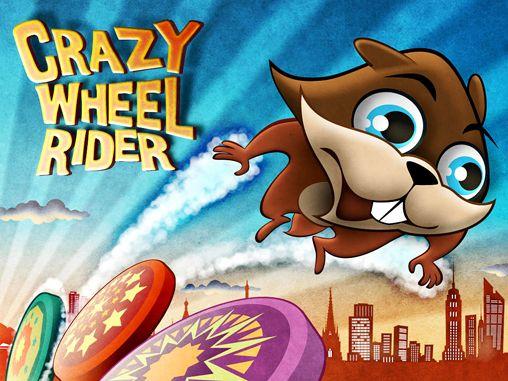 логотип Безумный скакун по колесам