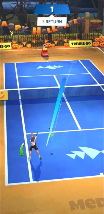 Tennis GO : World Tour 3D captura de pantalla 3