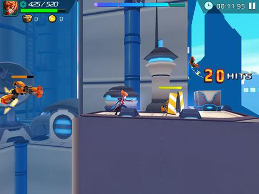 d'arcade Jetpack fighter pour smartphone