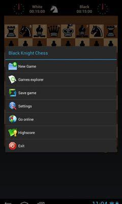 Black Knight Chess Symbol