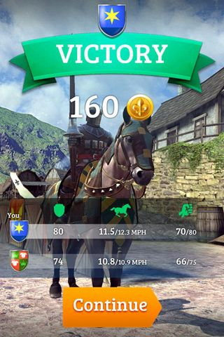 Скриншот Непобедимый рыцарь на Айфон