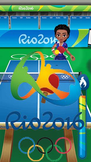 Rio 2016: Olympic games. Official mobile game icône