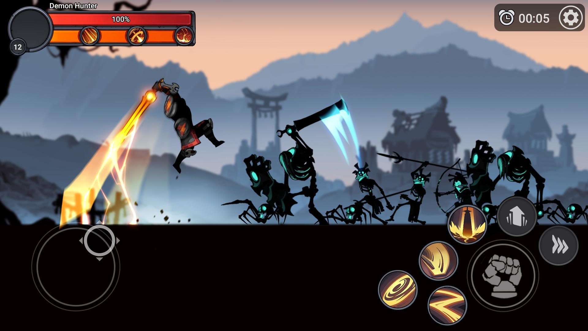 Stickman Master: League Of Shadow - Ninja Fight скриншот 1