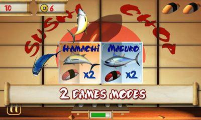 d'arcade SushiChop pour smartphone