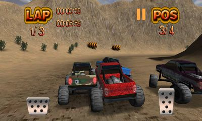 Monster Wheels Offroad pour Android