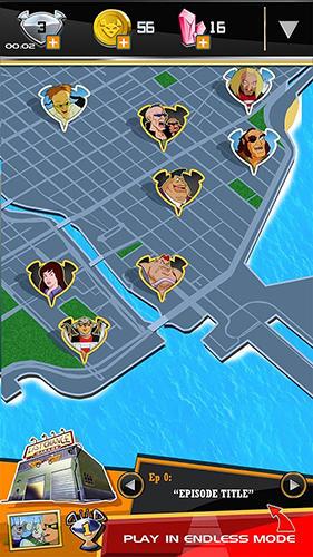 Arcade-Spiele Biker mice from Mars für das Smartphone