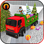 Christmas tree transporter truck іконка