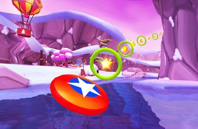 Screenshot Frisbee werfen 2 auf dem iPhone