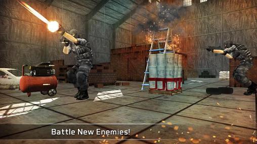 Sniper-Spiele Silent assassin: Sniper 3D auf Deutsch