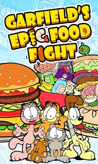 Garfield's epic food fight screenshot 1