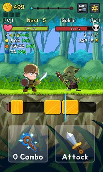 Juegos de arcade Combo heroes para teléfono inteligente