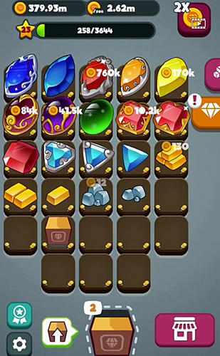 Merge gems! screenshot 3