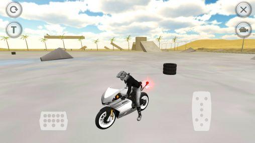 Arcade Extreme motorbike racer 3D für das Smartphone