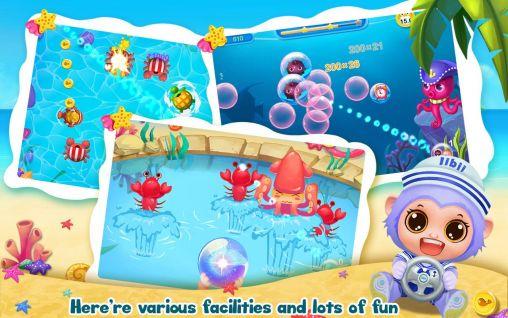Juegos de arcade Pet waterpark para teléfono inteligente