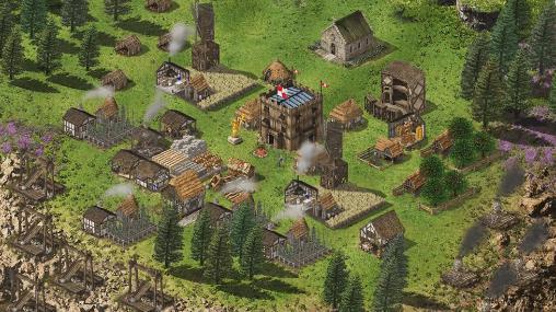 Multiplayer Stronghold kingdoms für das Smartphone