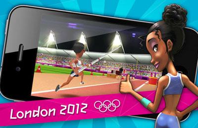 logo London 2012 - Offizielles Handy Spiel