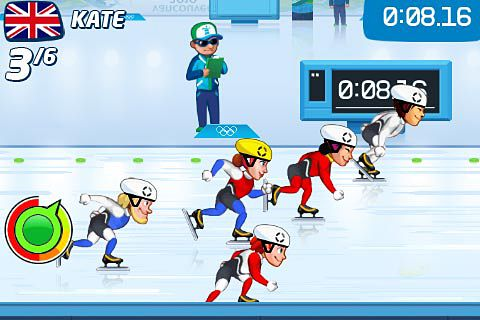 Vancouver 2010: Official game of the olympic winter games for iPhone for free