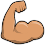 Biceps clicker icon