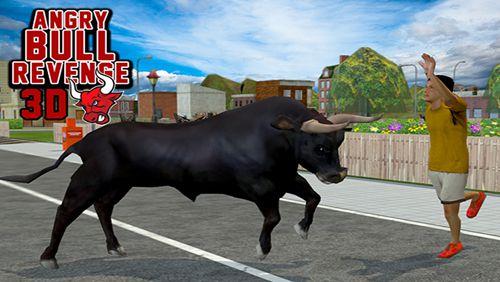 logo Wütender Bulle: Rache 3D
