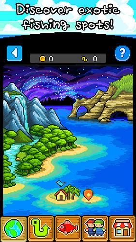 Capturas de tela de Fishing paradiso