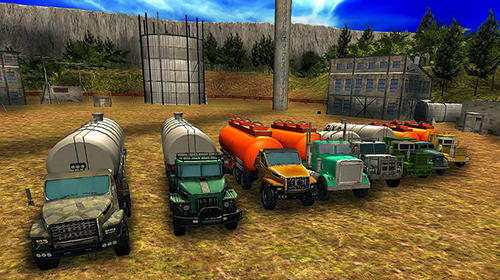 Oil truck offroad driving für Android