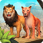 Lion family sim online图标