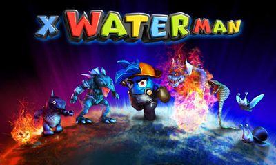 3D X WaterMan Symbol