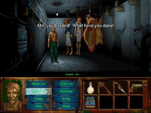 Abenteuer-Spiele I have no mouth, and I must scream für das Smartphone