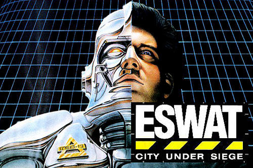 ESWAT: City under siege classic captura de tela 1