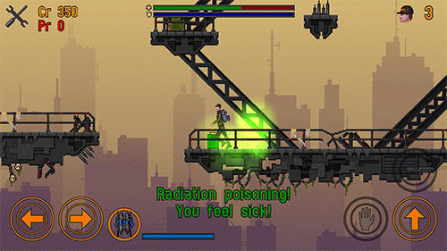 Slip gear: Jet pack wasteland für Android
