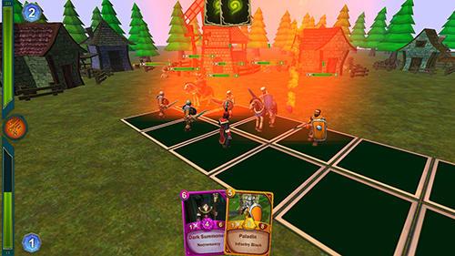 Saga CCG: Dust and magic Screenshot