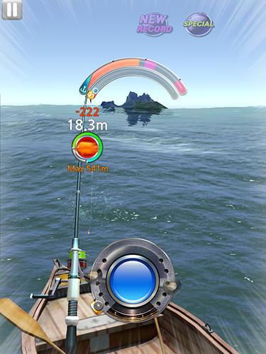 Arcade-Spiele Monster fishing 2018 für das Smartphone