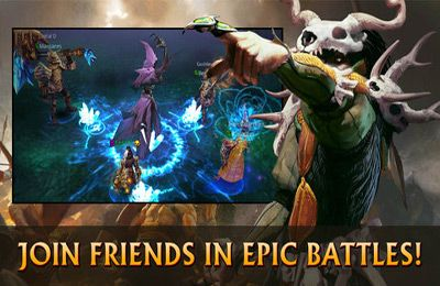 Action games: download Black Gate: Inferno на iPhone