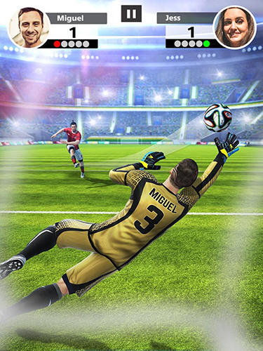 Football strike: Multiplayer soccer скріншот 1